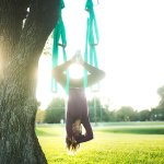UpCircleSeven yoga swing