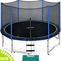 Zupapa Trampoline with Enclosure Net