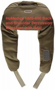 HoMedics NMS-600 Back and Shoulder Percussion Massager with Heat