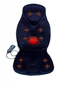 FIVE S FS8812 10-Motor Vibration Massage Seat Cushion with Heat Reviews For 2019