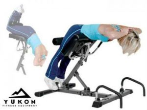 Yukon Total Back System Hyperextension Bench