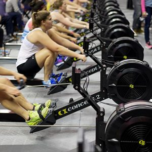 what does the rowing machine do for the body