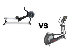 Rowing Machine vs Elliptical Trainers