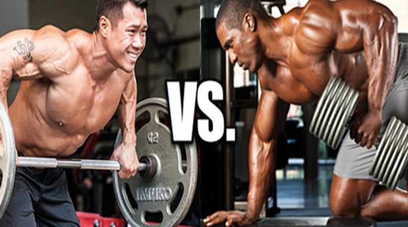 Barbells Vs Dumbells