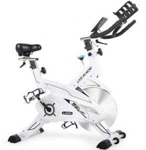 L NOW Indoor Exercise Bike Indoor Cycling Stationary Bike